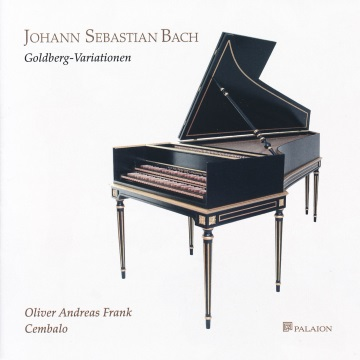 CD-Cover Bach - Goldberg-Variationen