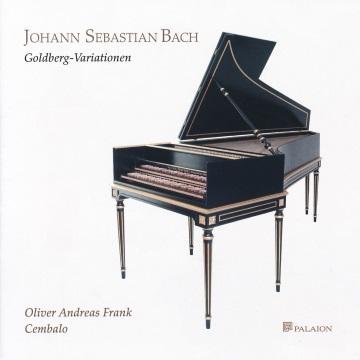 CD-Cover Bach - Goldberg-Variationen