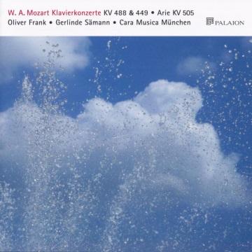 CD-Cover Mozart - Klavierkonzerte