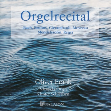CD-Cover Orgelrecital