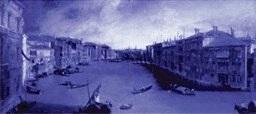 Zuanne Antonio Canal (1697-1768), »Canal Grande von Palazzo Balbi gegen Rialto«, 144x207 cm, Venezia, Ca' Rezzonico