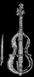 Die große Viola da Gamba nach Michael Praetorius
